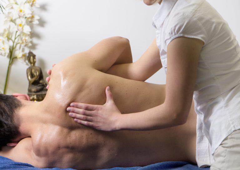 Imagen masaje. Dolor en la EP